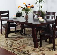 Japanese Style Dining Table Malaysia Solid Mahogany Rectangular Table With Turnbuckle Stretcher By