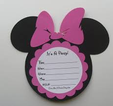 do it yourself invitations diy minnie mouse invitations minnie mouse invitation diy kit do it