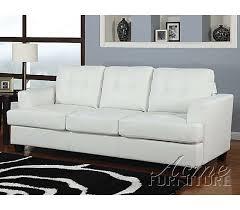 white leather convertible sofa centerfieldbar com