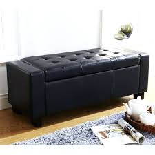 Black Storage Bench Lincoln Bench With Storage Baskets Black Black Bench With Storage