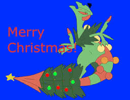 mega sceptile christmas card of dragons how to train