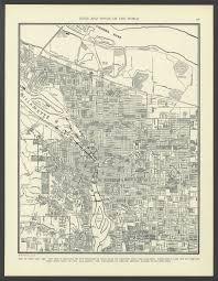 Map Portland Oregon by Mt Tabor Map 1891 Portland And Portland Oregon