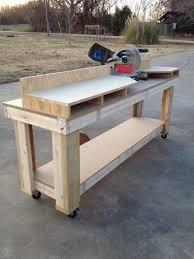 bench for circular saw miter saw workbench shanty 2 chic