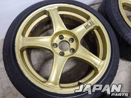 lexus ls430 wheel offset yokohama advan rcii wheels 5x100 17 x 8 5j 45 offset 215 45 17