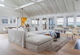 Vaulted Ceiling Open Floor Plans Cape Cod Beach Cottage Design Home Bunch U2013 Interior Design Ideas