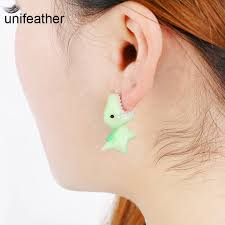ear earring aliexpress buy unifeather handmade polymer clay soft