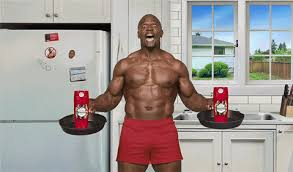 Old Spice Meme - old spice terry crews breakfast haha weird animated gif popkey