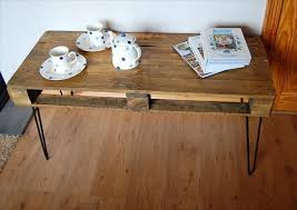 Wooden Pallet Coffee Table 13 Diy Pallet Tables With Hairpin Legs 1001 Pallet Ideas