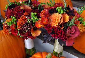 fall wedding bouquets wedding flowers in season
