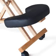 furniture office wooden office chair without wheels modern