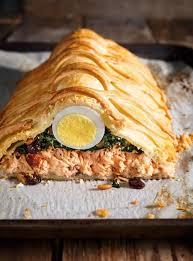 comment cuisiner du saumon surgelé saumon en croûte koulibiac ricardo