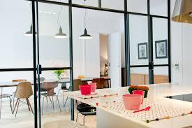 cloison vitree cuisine cloison transparente inspiration cloison et verrière
