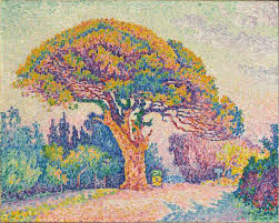 file paul signac 1909 the pine tree at tropez on