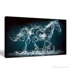 home decor dropship 2018 abstract horse painting dropship print canvas paintings one