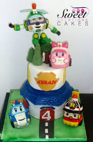 Nursery Rhymes Decorations by 19 Best Robocar Poly Images On Pinterest Cakes Nursery Rhymes