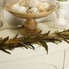 feather garlands holiday u0026 decor feather products