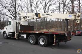 8606 1998 volvo wg64 national crane 600c 17 ton boom truck