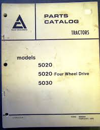 allis chalmers models 5020 and 5030 tractors parts manual u2022 cad