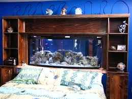 Bill Gates Aquarium In House by Modern Themed Fish Tank Bedroom Wallpaper To Remodeling Your House