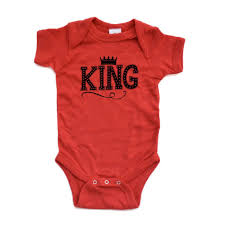 halloween baby clothes amazon com apericots cute king baby boy bodysuit with crown on