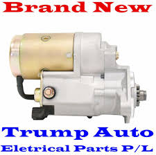 starter motor to toyota hilux kun16 kun26 1kd ftv turbo diesel 3 0