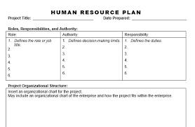 resource plan template business development action plan business