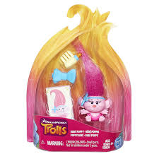 amazon com dreamworks trolls baby poppy collectible figure toys