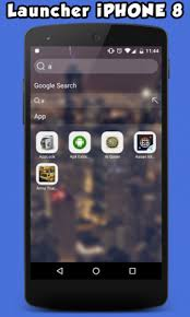aptoide apk iphone launcher for iphone 8 plus 1 0 0 apk for android aptoide