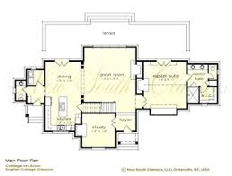 house plans with vaulted great room great room floor plans new south classics cottage on vaulted great