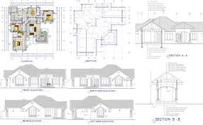 house plan dimensions plan with detailed dimensions sections elevations and 3d