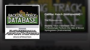 lyrics cadillac ranch cadillac ranch instrumental
