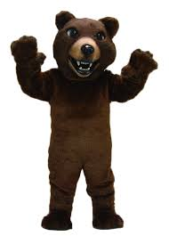 brown costume buy brown grizzly mascot costume 21032 mascot costume shop
