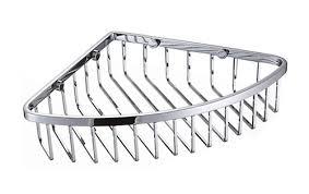 new corner basket shower caddy shelf by bathroom accessories