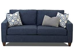 Klaussner Home Furnishing Klaussner Bosco Contemporary Sofa With Track Arms Novello Home