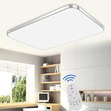 Deckenlampen Wohnzimmer Modern Sailun 48w Dimmbar Led Modern Deckenleuchte Deckenlampe Flur