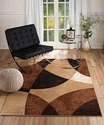 Brown And Black Rug Black And Brown Rug Amazon Com