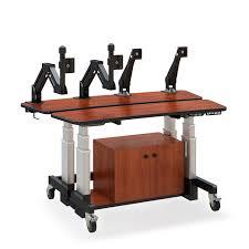 split level height adjustable desk afcindustries com