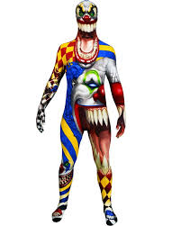 clown costume scary clown morphsuit boys costume kids costumes