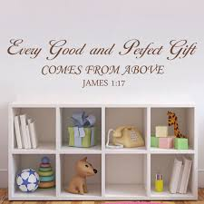bible verse gifts every and gift wall decal baby nursery wall quote
