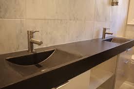 granite tile bathroom countertop