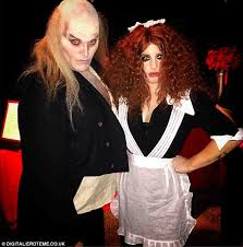 Rocky Horror Picture Show Halloween Costumes Kelly Osbourne Dresses Magenta Rocky Horror Picture