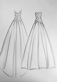 drawn wedding dress bridesmaid dress pencil and in color drawn
