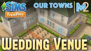 sims freeplay french chateau wedding venue original design