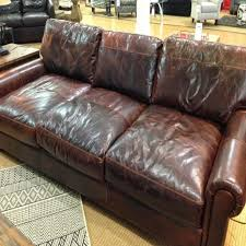 modern furniture knockoff living room restoration hardware madison leather sofa model max