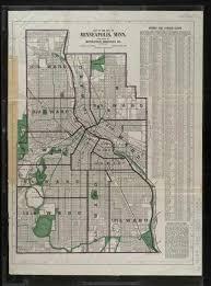 Map Of Minneapolis John R