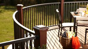 Curved Handrail Signature Curved Railing Trex
