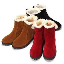 Warm Comfortable Boots Women Winter Snow Boot Keep Warm Comfortable Outdoor Casual Ankle