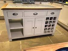 used kitchen islands kitchen island unit ebay