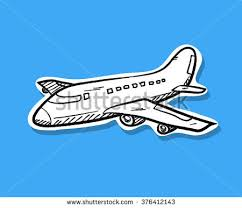 airplane doodle stock images royalty free images u0026 vectors