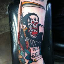 13 traditional death tattoos